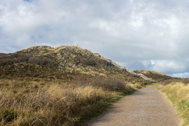 Uwe dune on the island of Sylt royalty free stock photography