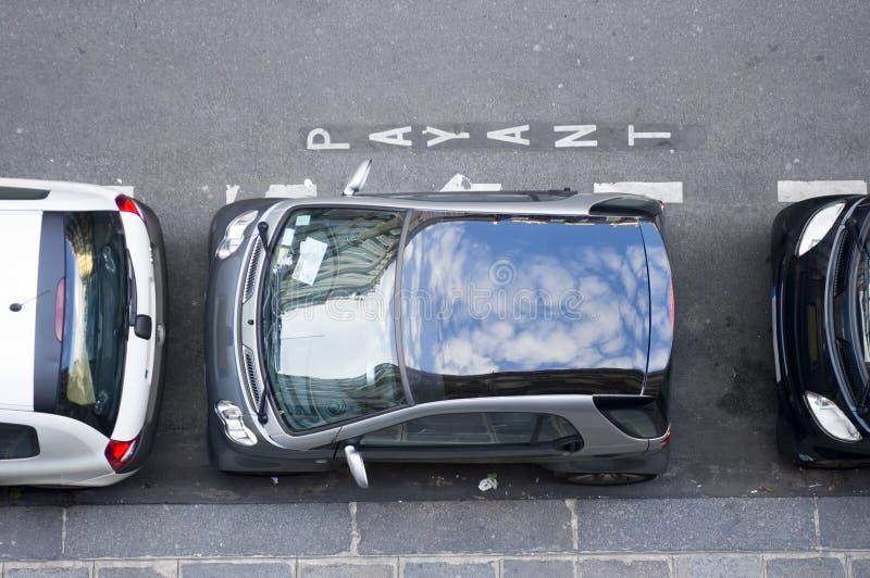 uwięziony miejsce parkingowe zdjęcie stock