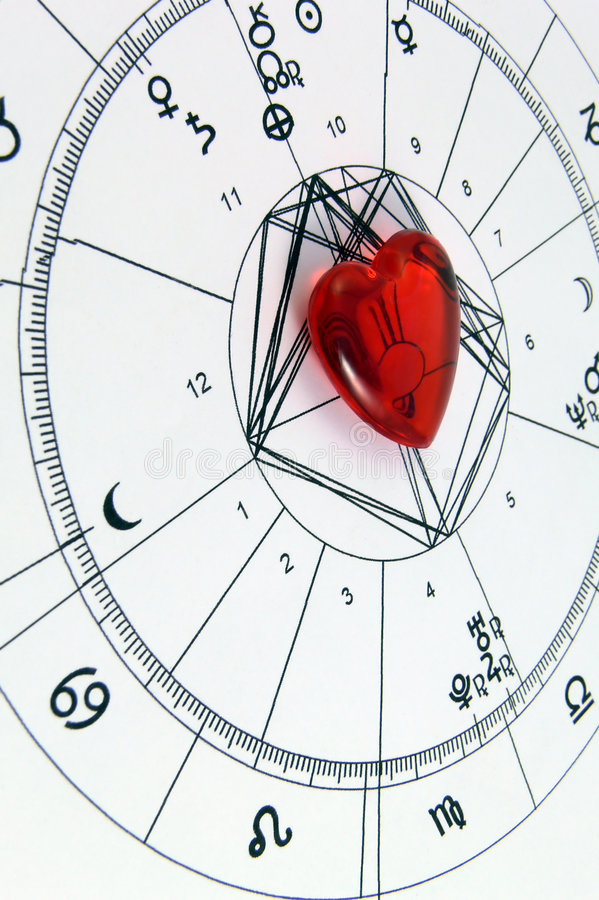 uwielbiam astrologia fotografia stock