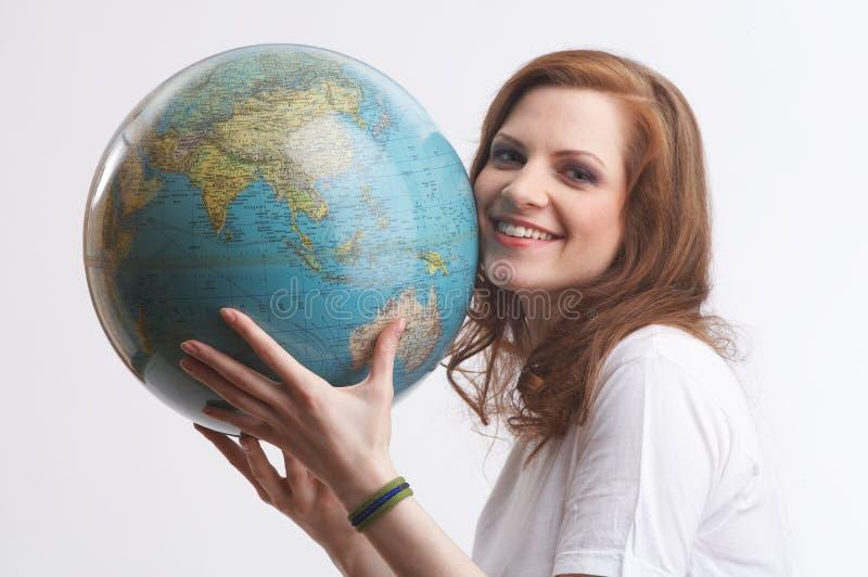 uwielbiam globus obrazy royalty free