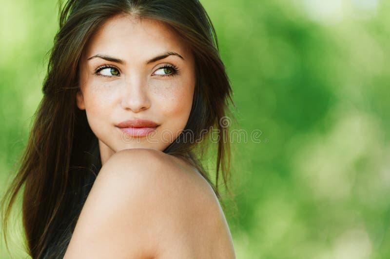 uwodzicielski dziewczyna portret obraz stock