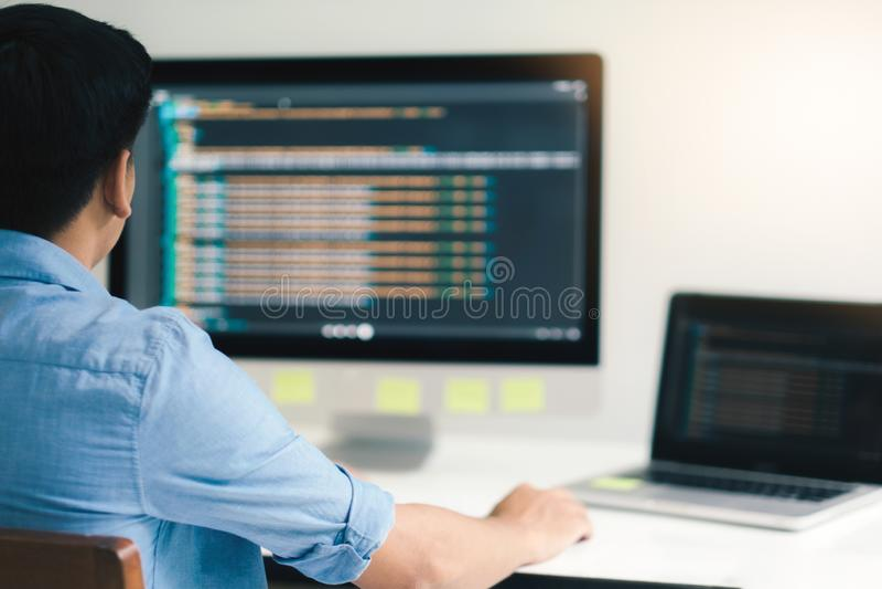 UX UI y tecnología del desarrollo de programación fotografía de archivo