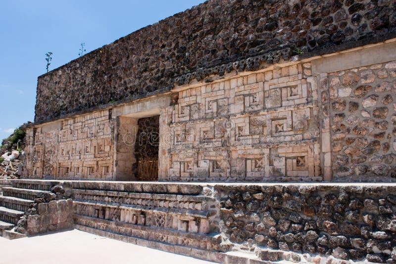 uxmal墨西哥的寺庙 库存图片