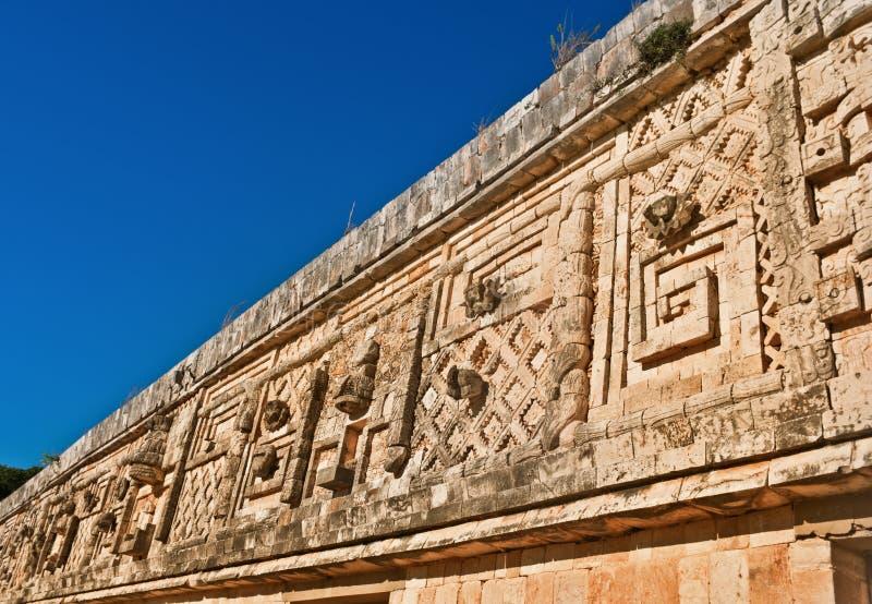Uxmal - ancient Maya city. Yucatan, Mexico royalty free stock photography
