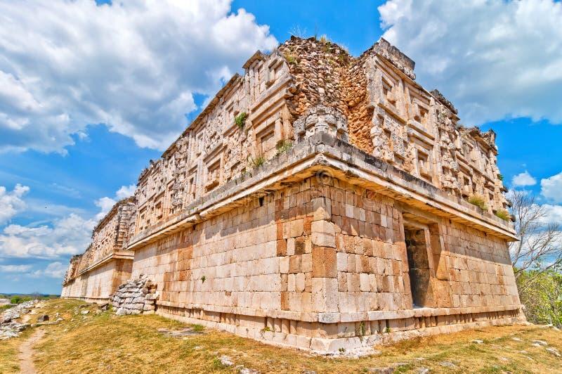 Uxmal antyczny majski miasto, Jukatan, Meksyk obrazy royalty free
