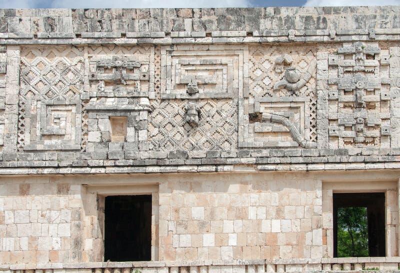 Download Uxmal Carved Wall Yucatan Mexico Stock Photo - Image: 25800584