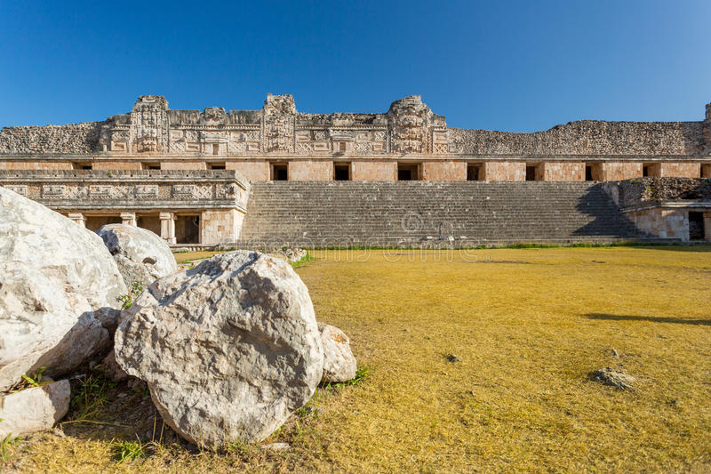 Uxmal, Messico fotografie stock