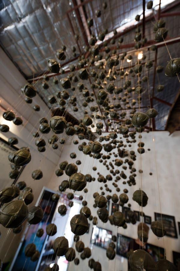 UXO Lao Visitor Centre in Luang Prabang royalty-vrije stock foto's
