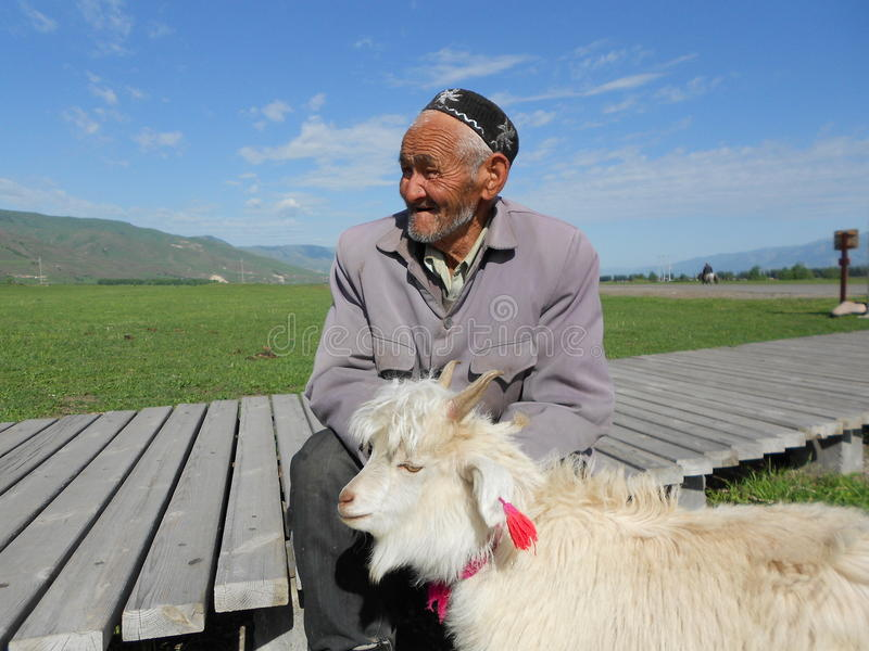 Uyghur stock foto