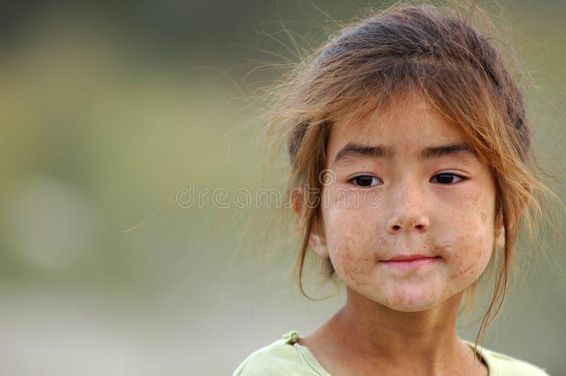Uyghur girl royalty free stock photo