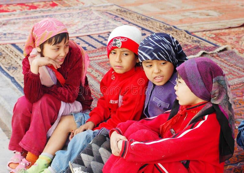 Uyghur girls royalty free stock image