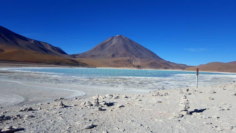 Uyuni火山 库存照片