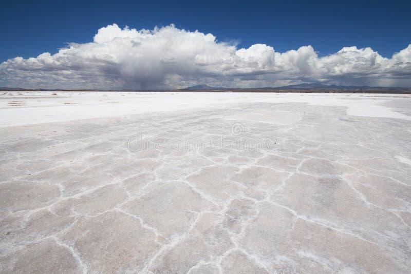 Uyuni Salt Flats Bolivia Stock Photo
