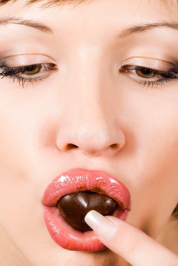 uzależnienie od czekolady obraz royalty free