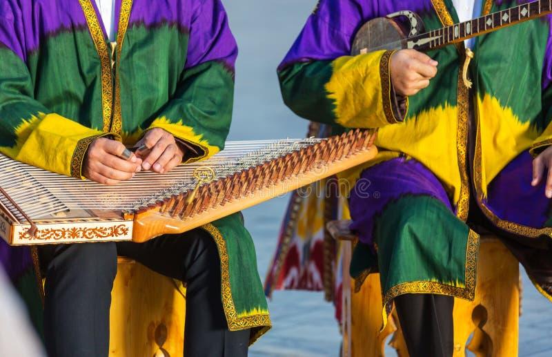 Uzbek folk music royalty free stock images