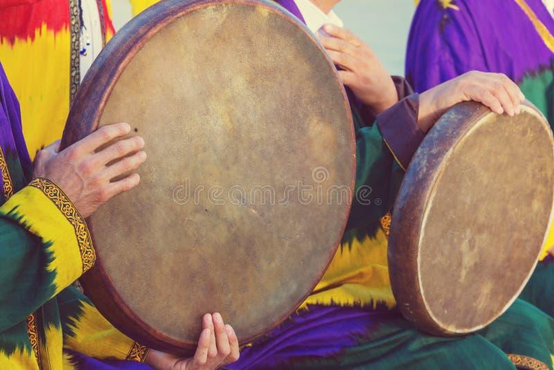 Uzbek folk music stock photos