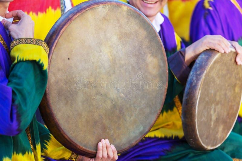 Uzbek muzyka ludowa obrazy stock