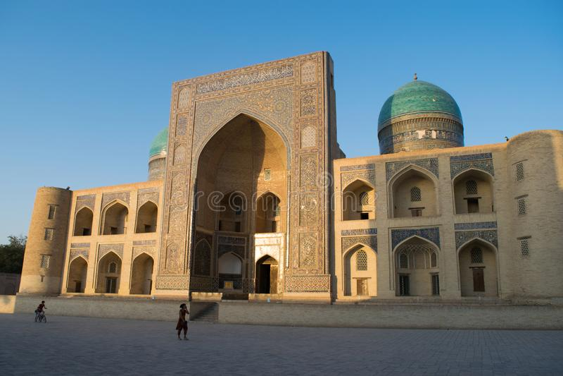 Uzbekistan świątynia obraz stock