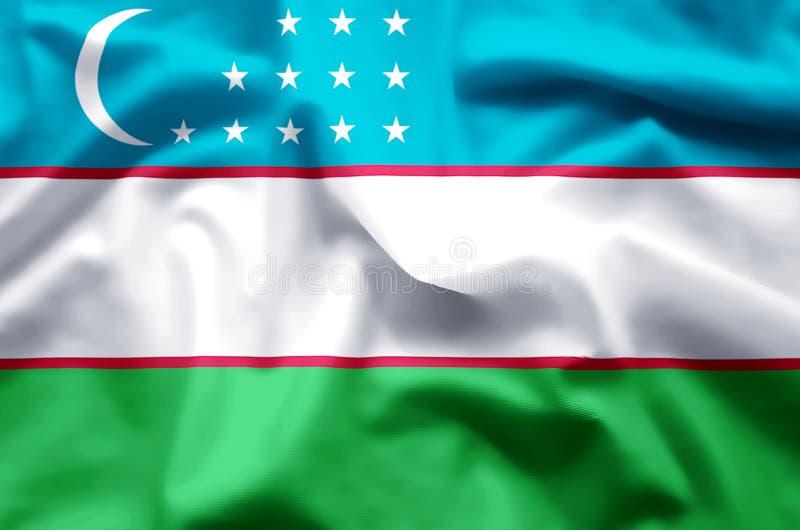 uzbekistan illustration de vecteur