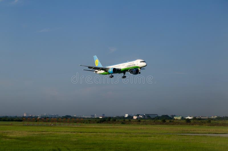 Uzbekistan Airways Plane Editorial Photo