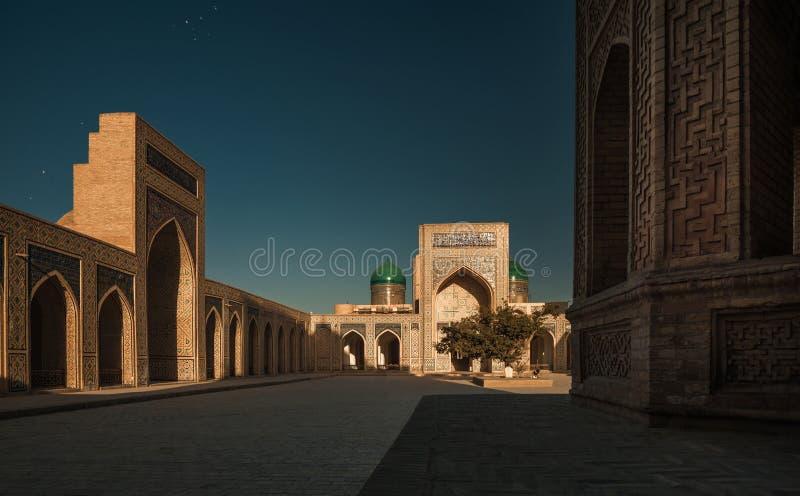 Uzbekistan. Inside the complex of buildings of Poi Kalyan, Bukhara, Uzbekistan stock photos