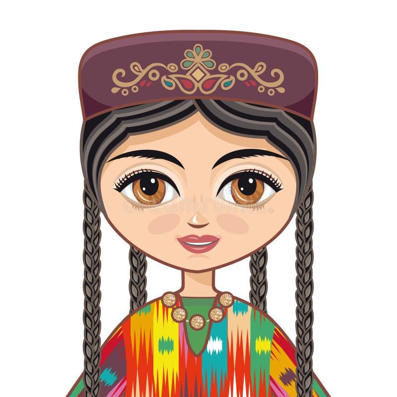 uzbekistan vêtx historique illustration libre de droits