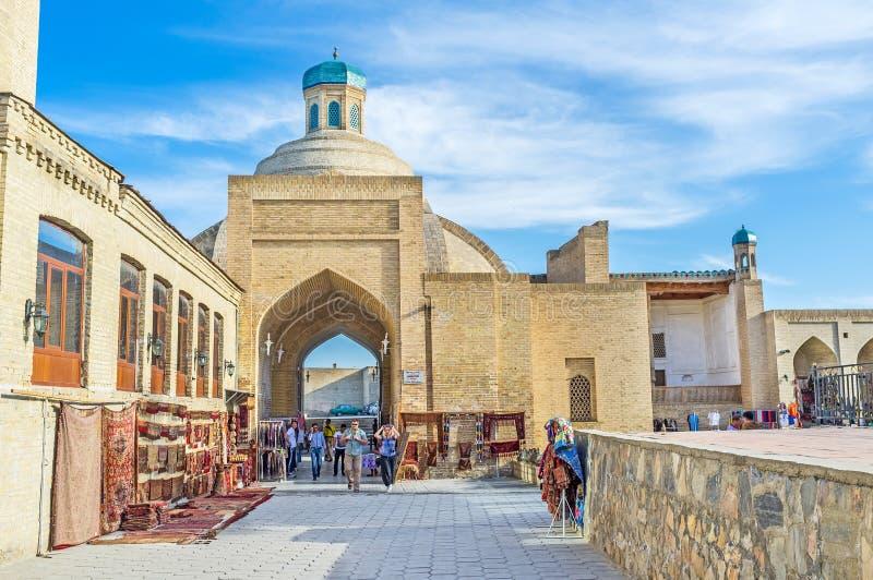 Uzbekmarknaden royaltyfri foto