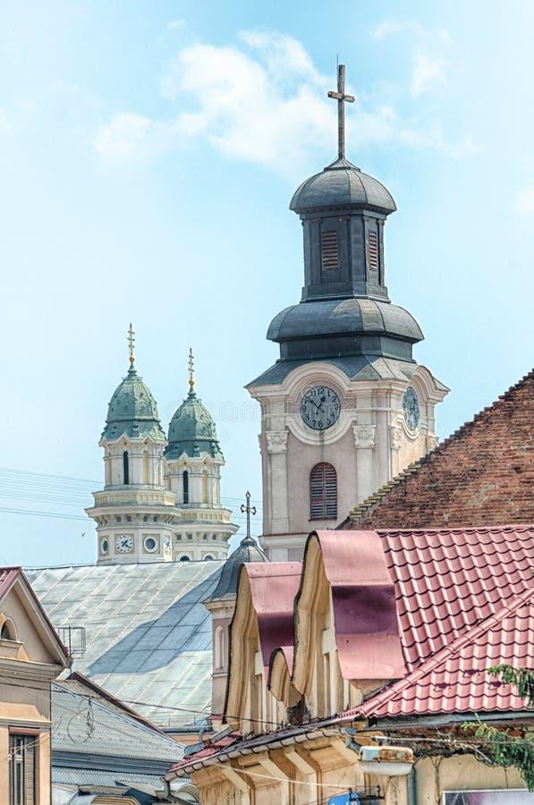 Uzhgorod, Transcarpathië, de Oekraïne royalty-vrije stock afbeeldingen
