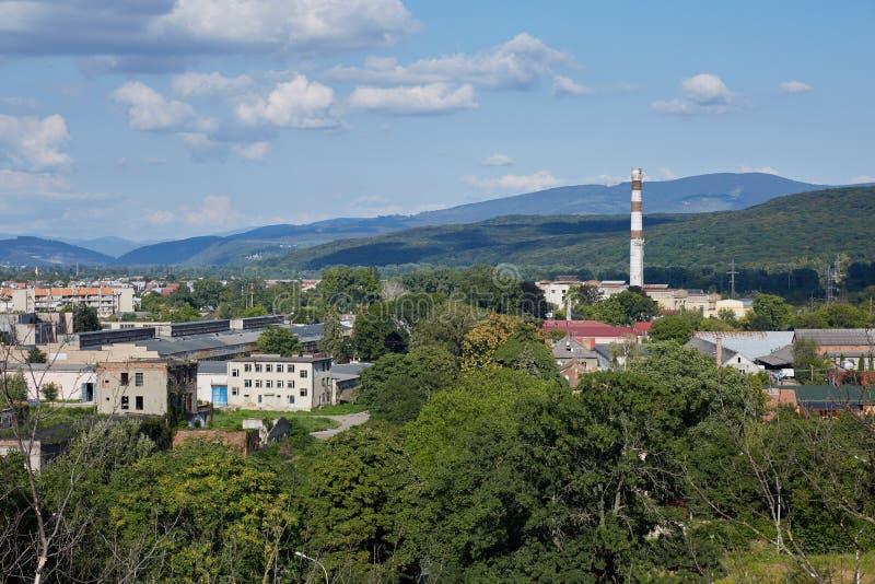 Uzhorod-Landschaft Zakarpatska oblast Ukraine lizenzfreies stockbild