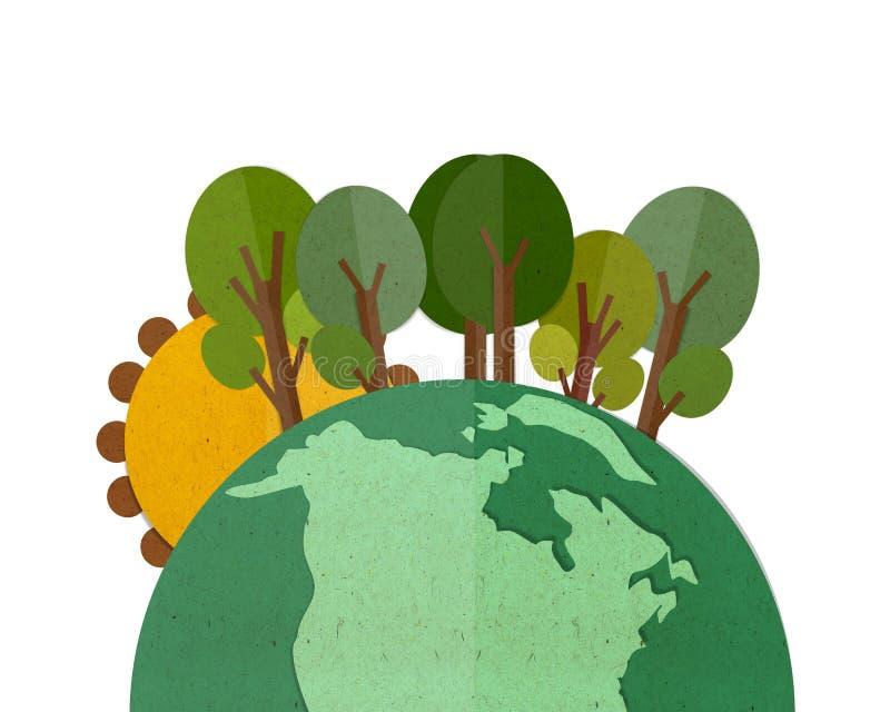 uziemia zieleń royalty ilustracja