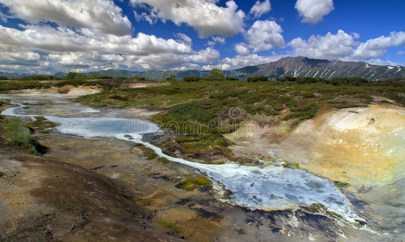 Uzon panorama arkivfoto