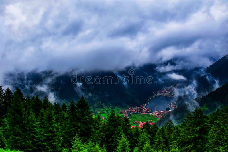 Uzungol - Trabzon - Turkije royalty-vrije stock foto's