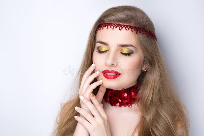 Uzupełniał manicure'u francuza obrazy royalty free
