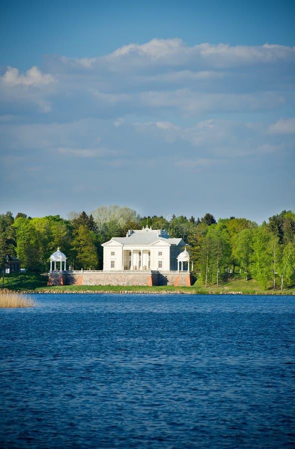 Uzutrakis-Landsitzzustand in Trakai lizenzfreie stockfotografie