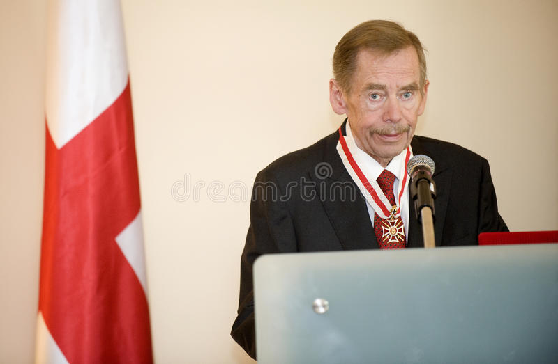 Václav Havel royalty-vrije stock fotografie