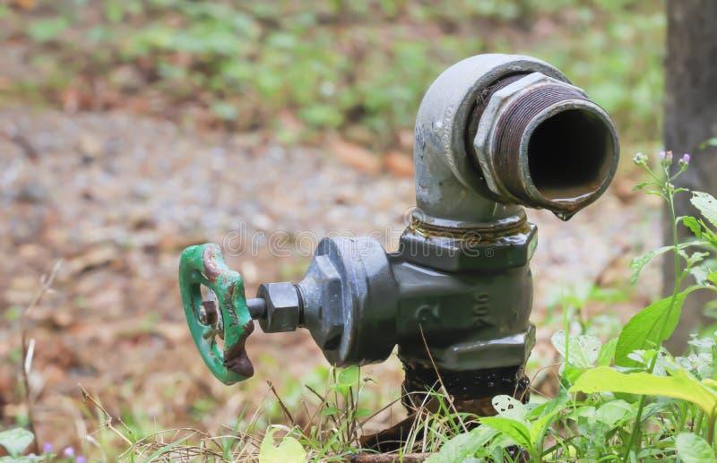 Válvula da água fotos de stock