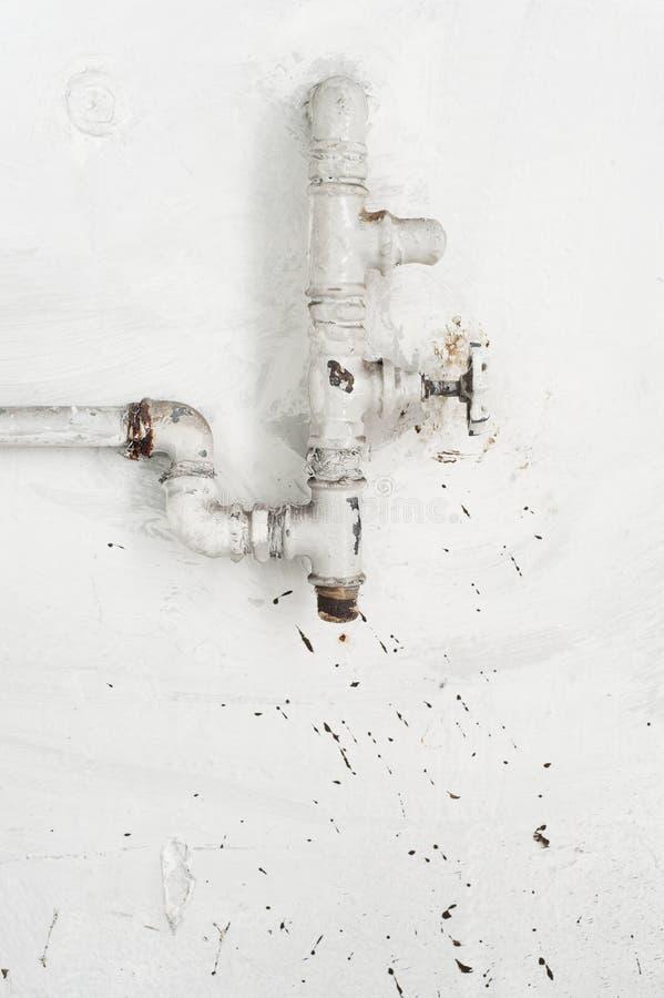 Válvula da fonte de água foto de stock