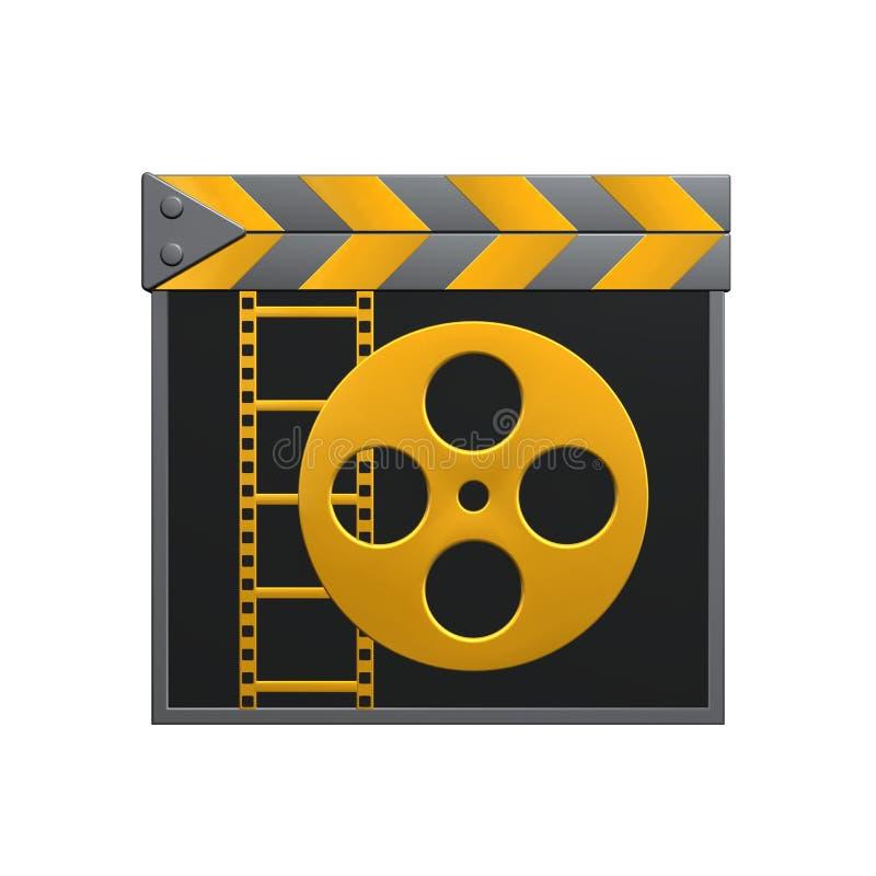 Válvula da película ilustração stock