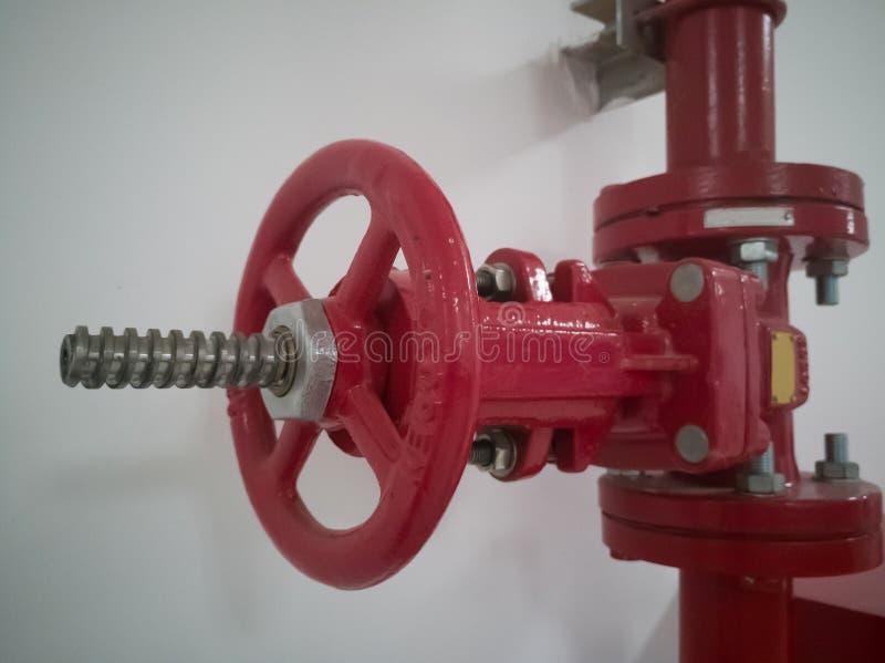 Válvula de la boca de incendios fotos de archivo