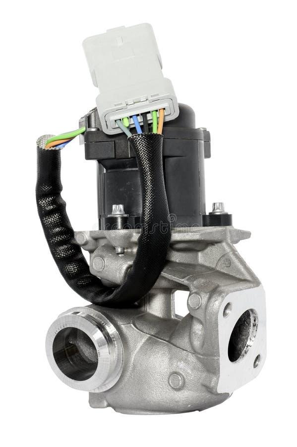 Válvula de la recirculación de los gases de escape foto de archivo