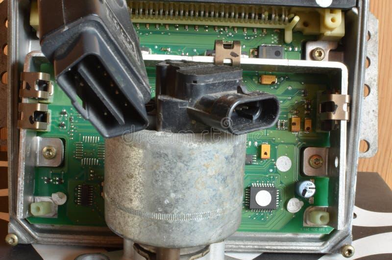 Válvula de la recirculación de los gases de escape fotos de archivo libres de regalías