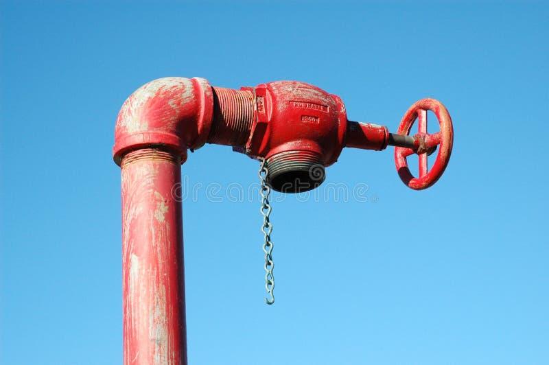 Válvula del agua foto de archivo libre de regalías