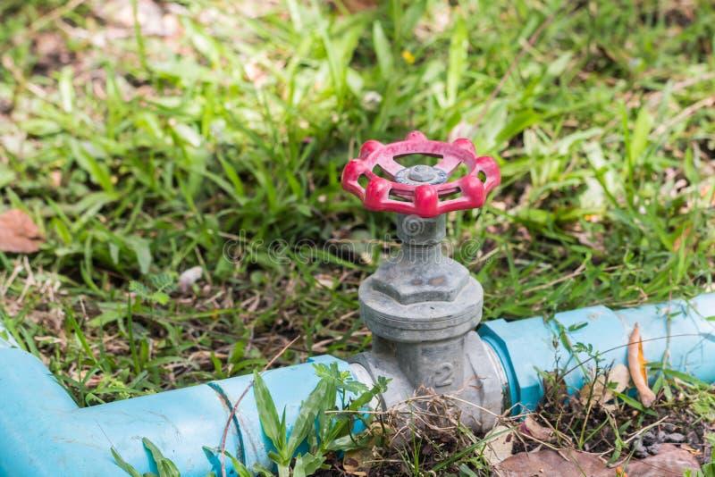 Válvula del agua imagen de archivo libre de regalías