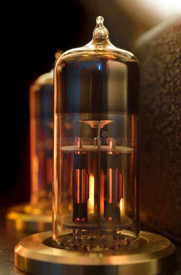 Válvula do tubo de vácuo fotografia de stock royalty free