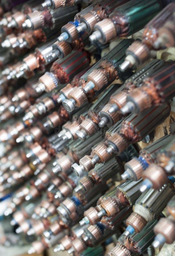 Válvulas eletrônicas foto de stock