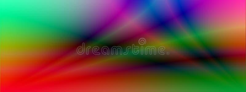 Várias cores do fundo criadas no computador ilustração royalty free