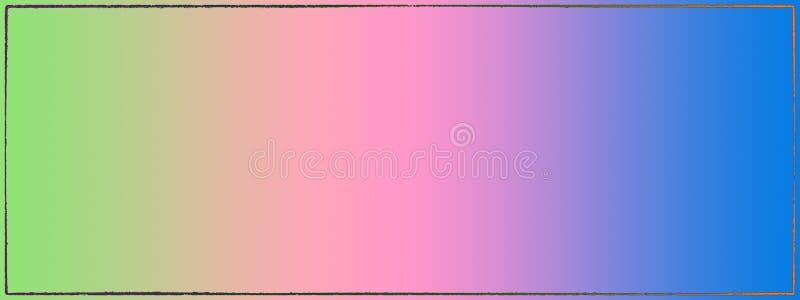 Várias cores do fundo criadas no computador ilustração do vetor