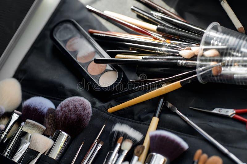 Várias ferramentas da composição fotografia de stock