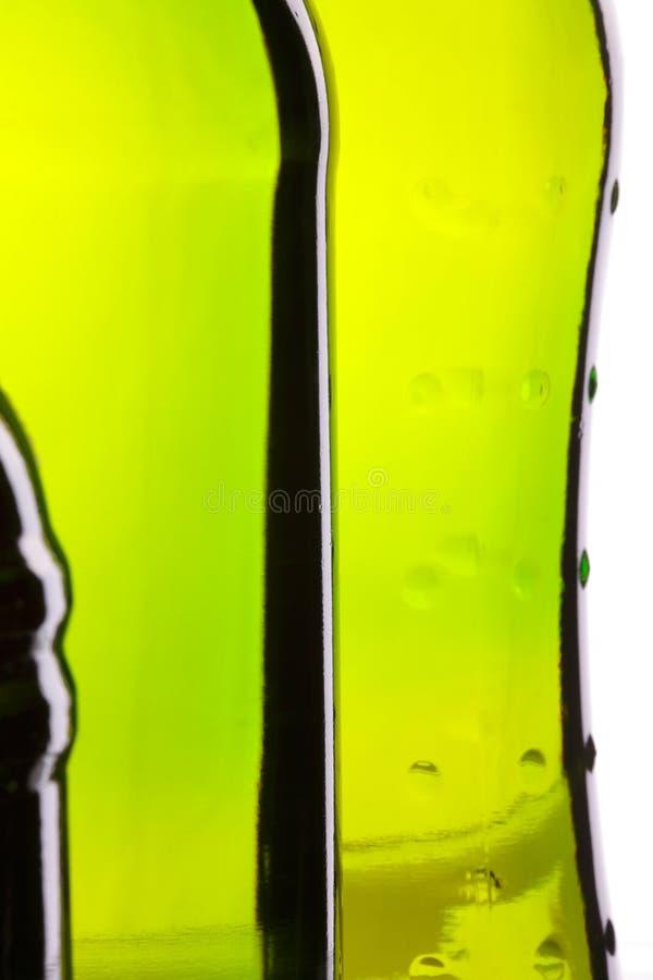 Várias formas do frasco de cerveja imagem de stock