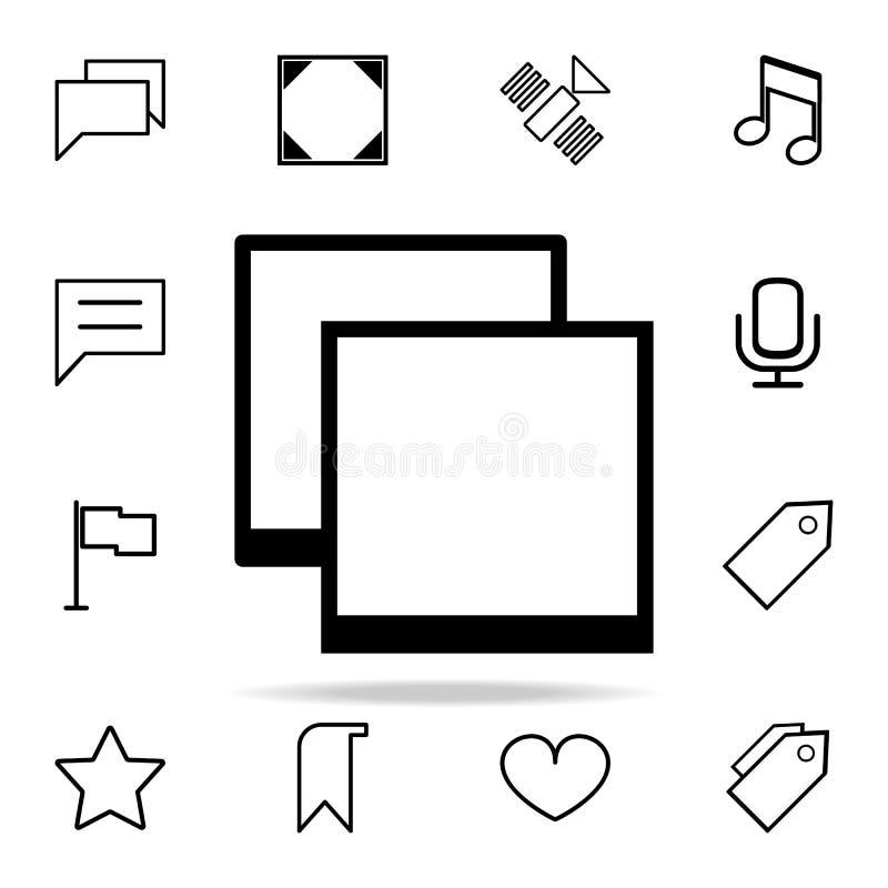 Vário ícone das janelas grupo universal dos ícones da Web para a Web e o móbil ilustração royalty free